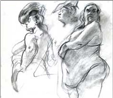 Life Drawing In New York City At Spring Studio Figure Classes Sketch Sessions